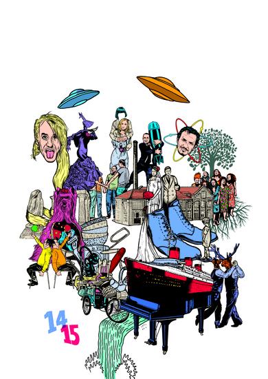 Visuel saison 2014-2015 / crédit illustration : Stéphane Trapier