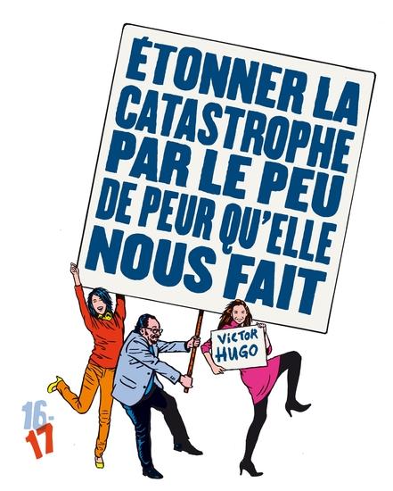 couverture brochure saison 2016-2017 - Peur / crédit illustration : Stéphane Trapier