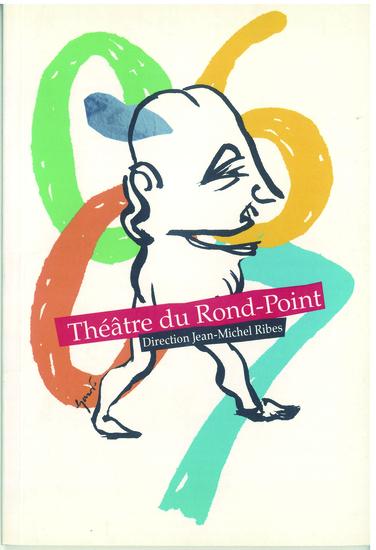 couverture brochure saison 2006 - 2007 / crédit illustration : Stéphane Trapier