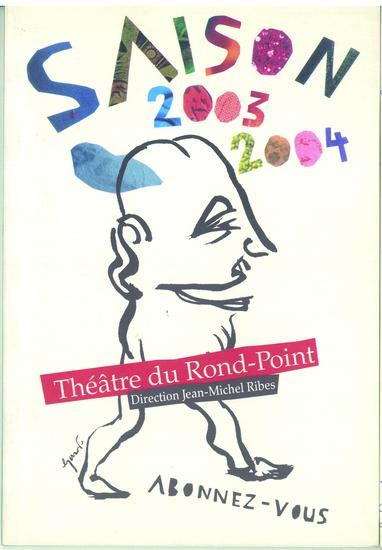 couverture saison 2003-2004 / crédit illustration : Stéphane Trapier