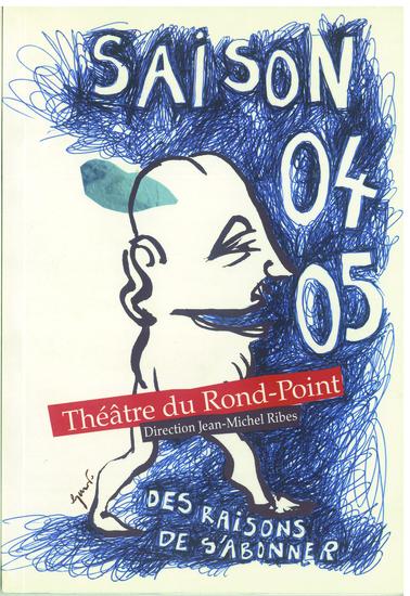 couverture saison 2004-2005 / crédit illustration : Stéphane Trapier