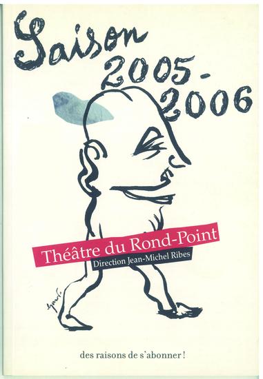 couverture saison 2005-2006 / crédit illustration : Stéphane Trapier