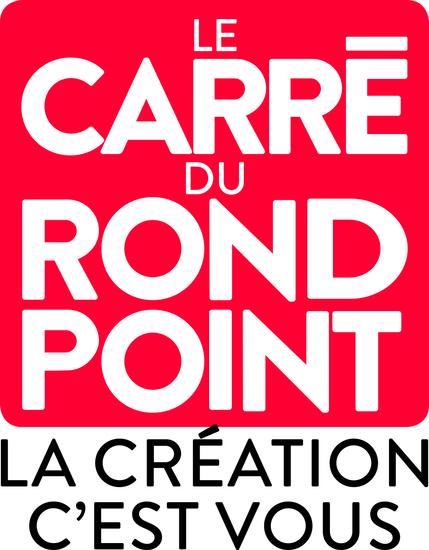 Le Carré du Rond-Point - logo / crédit : Stéphane Trapier